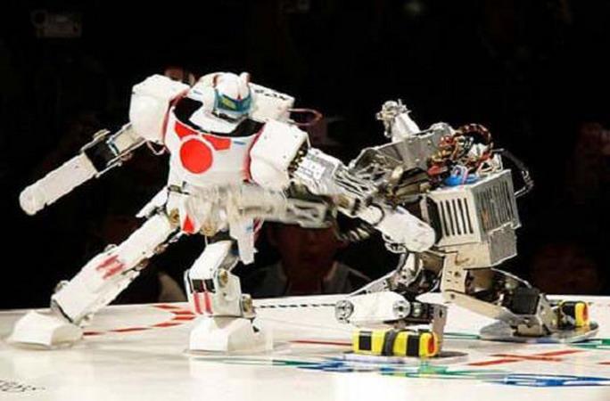 скачать игру драки роботов